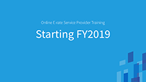 Beginners Starting FY2019