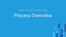 All Levels and Advanced Process Overview for Service Providers