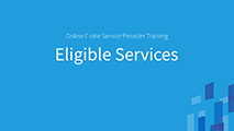 All Levels and Advanced Eligible Services