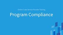 Beginners Beginner's Program Compliance
