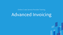 All Levels and Advanced Advanced Invoicing