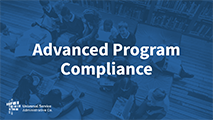 All Levels and Advanced Advanced Program Compliance