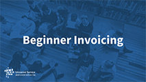 Beginners Beginner Invoicing