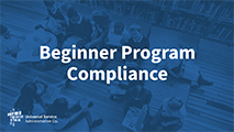 Beginners Beginner Program Compliance