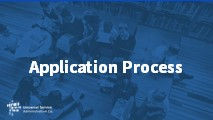 All Levels and Advanced Application Process (Pre-Commitment)