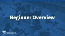 Beginners Beginner Overview