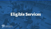 Beginners Eligible Services