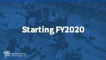 Beginners Starting FY2020