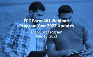 Form 481 Updates Webinar