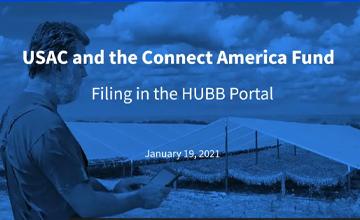 Filing in the HUBB Portal